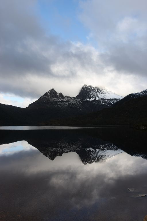 how to get to cradle mountain from hobart