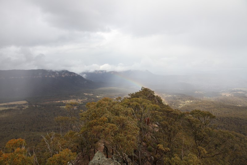The Megalong Valley.